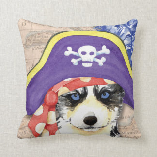 Husky Pirate Cushion