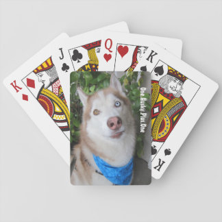 Husky Playing Cards