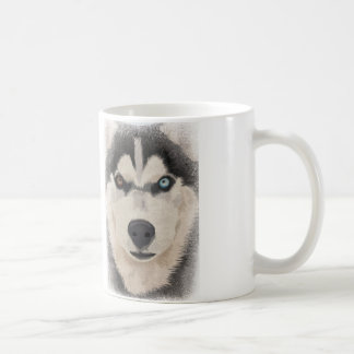 Husky portrait coffee mug