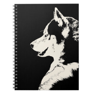 Husky Pup Notebook Siberian Husky Gifts & Books