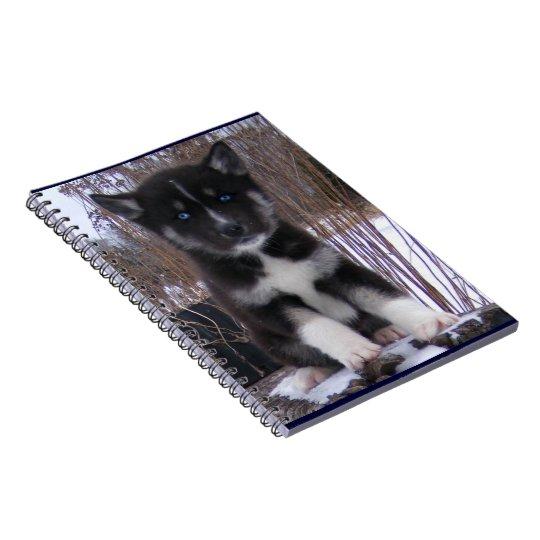 Husky Pup Notebooks