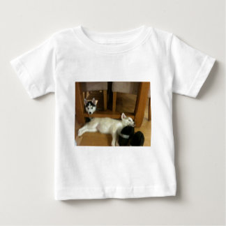 Husky pups baby T-Shirt