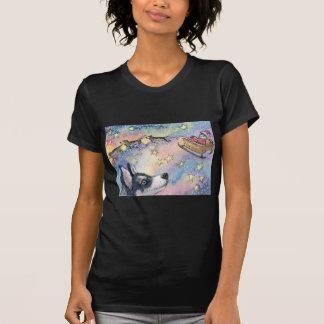 Husky Sleigh Dogs T-Shirt