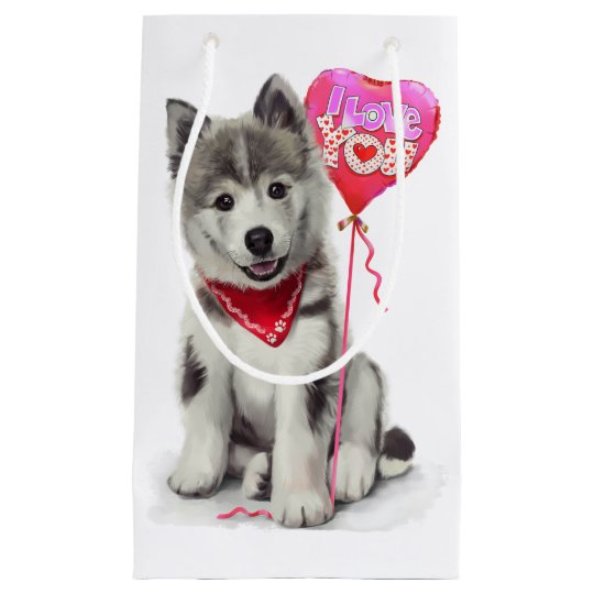 Husky Small Gift Bag