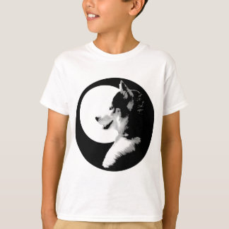 Husky T-Shirt Kids Sled Dog Kids Husky Tee Shirts