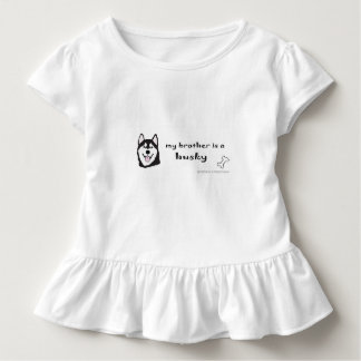 husky toddler T-Shirt