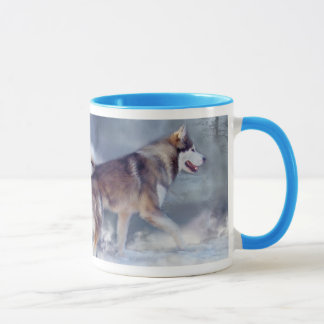 Husky - Winter Spirit Mug
