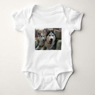 huskys baby bodysuit