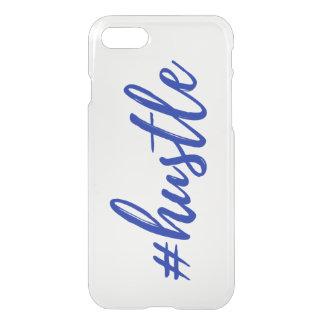 #Hustle Clear Phone Case