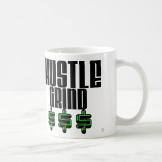 Hustle Grind And Money Mug