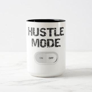 Hustle Mode On Two-Tone Coffee Mug