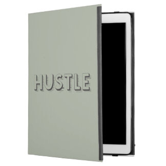 "Hustle Modern Typography iPad Pro 12.9"" Case"