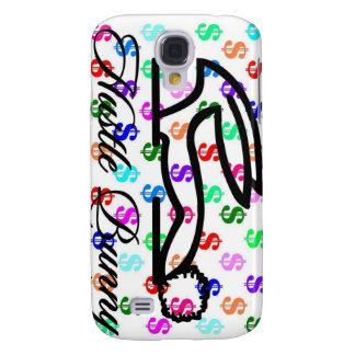 HustleBunny Clothing's/Bunny over Money Cover Galaxy S4 Case