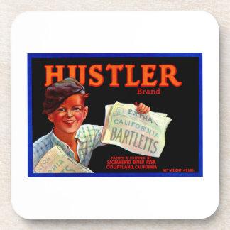 Hustler Bartletts Beverage Coaster
