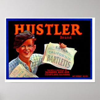 Hustler Bartletts Posters