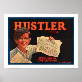 Hustler Brand Barletts Print