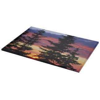 HUSTON PARK WILDERNESS, WYOMING. USA. Spruce Cutting Board