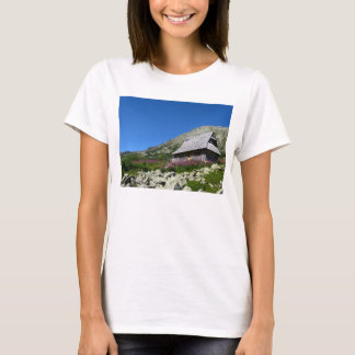 Hut in the Five Ponds Valley, Tatras T-Shirt