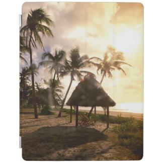 Hut On Beach iPad Cover