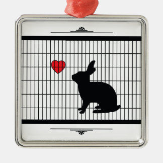 HUTCH BUNNY CHRISTMAS ORNAMENT