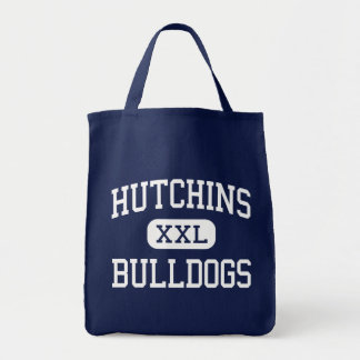 Hutchins Bulldogs Middle Detroit Michigan Canvas Bags