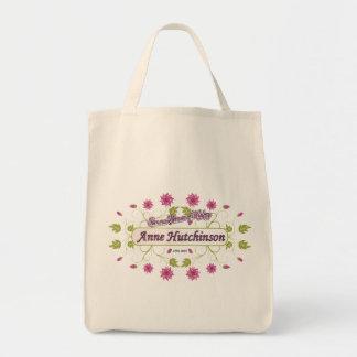 Hutchinson ~ Anne Hutchinson  Famous US Women Canvas Bags