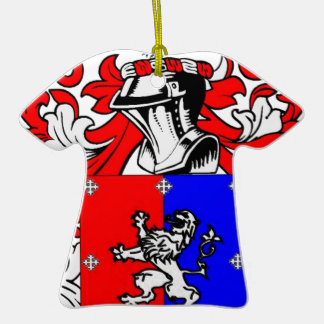 Hutchinson Coat of Arms Christmas Ornaments
