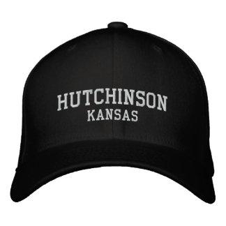 Hutchinson, Kansas Embroidered Cap