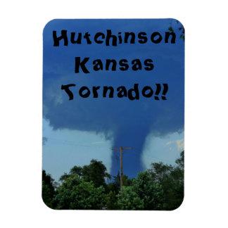 Hutchinson Kansas Tornado SQUARE MAGNET!!! Magnet