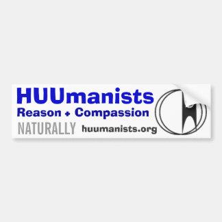 HUUmanists Bumper Stickers