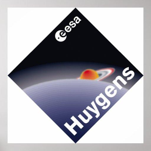 HUYGENS: Probe to Titan Poster