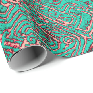 Huyuco Copper Green Wrapping Paper