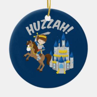 Huzzah Renaissance Faire Knight Christmas Ornament