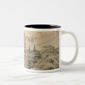Huzzarehs firing with Juzzaeels, from 'Characters Two-Tone Coffee Mug