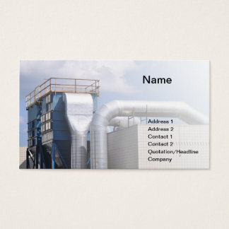 hvac or refrigeration equipment business card