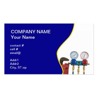 HVAC tools Business Card