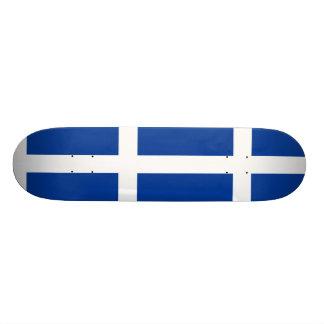Hvitblainn, Iceland flag Skate Board