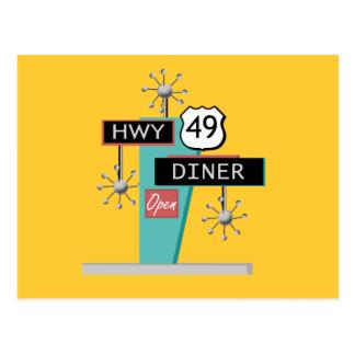 HWY 49 Diner Postcards