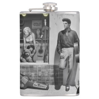 HWY 51 Silver 2 Hip Flask