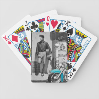 HWY 51 Silver Bicycle Playing Cards