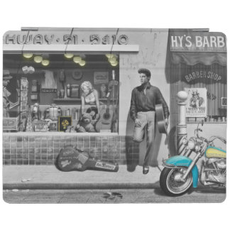HWY 51 Silver iPad Cover