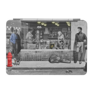 HWY 51 Silver iPad Mini Cover