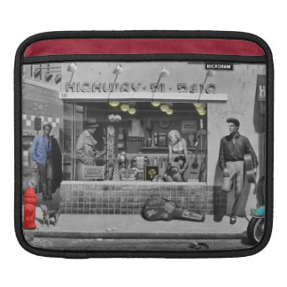 HWY 51 Silver iPad Sleeve