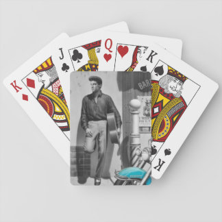 HWY 51 Silver Poker Deck
