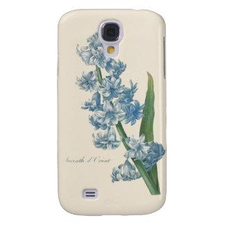 Hyacinth Blue Flower Illustration Galaxy S4 Case