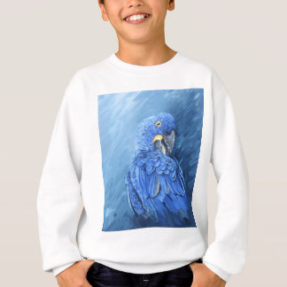 Hyacinth Macaw. Blue macaw just for you Sweatshirt