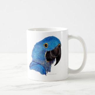 Hyacinth Macaw (dark design) Coffee Mug