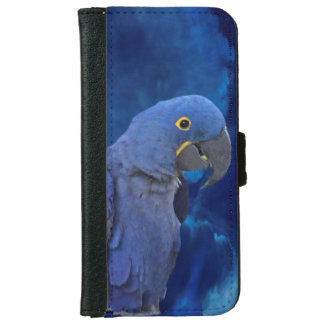 Hyacinth Macaw iPhone 6 Wallet Case