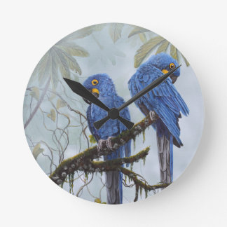 Hyacinth Macaw just for your special gifts Wallclocks