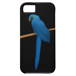 Hyacinth Macaw Parrot Tough iPhone 5 Case